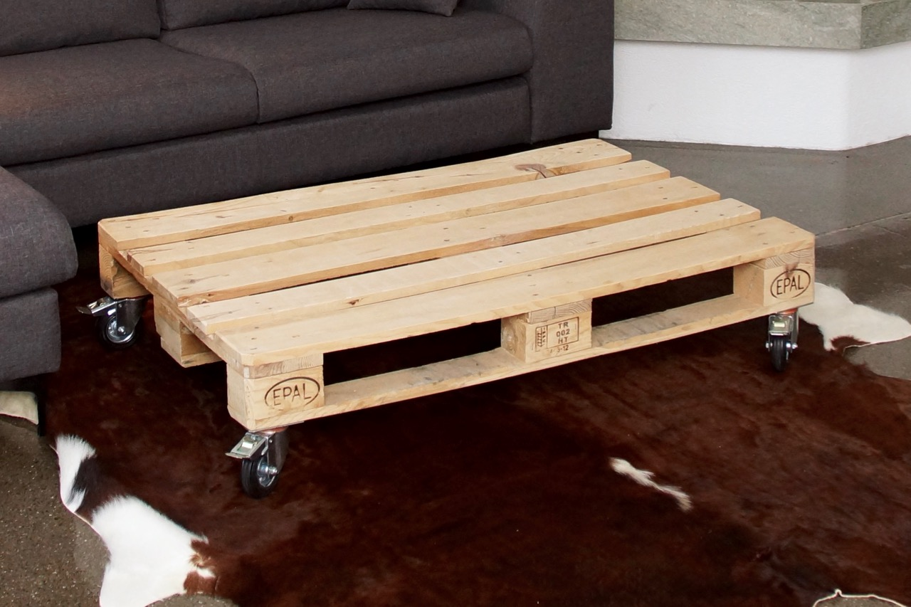 Möbel aus Europaletten Tisch